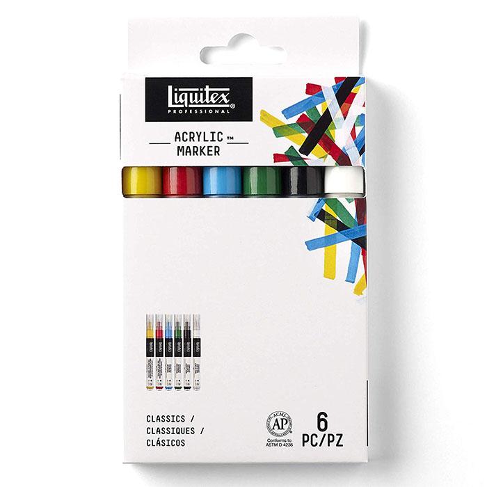 Liquitex Wide Markers