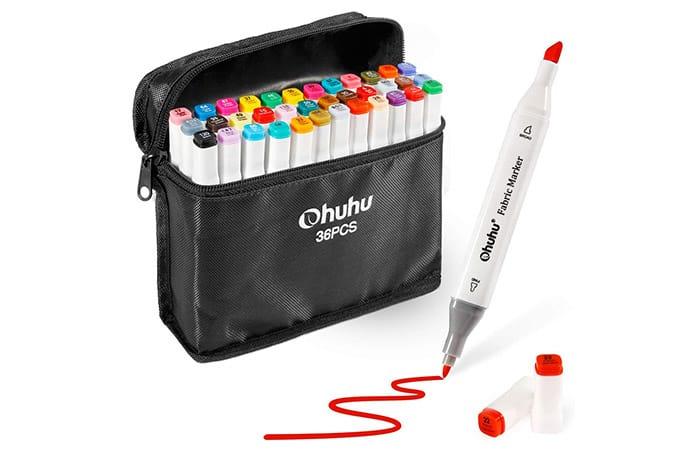 Ohuhu Dual-Tip Fabric Marker