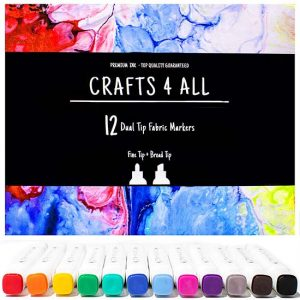 Crafts 4 ALL Permanent Fabric Markers