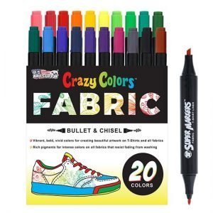 Crazy Colors Fabric Markers
