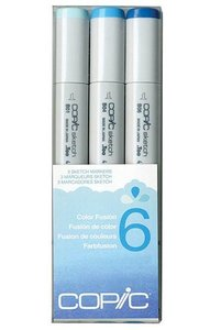 CSCF 6 Copic Markers
