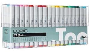 Copic Sketch Marker Set