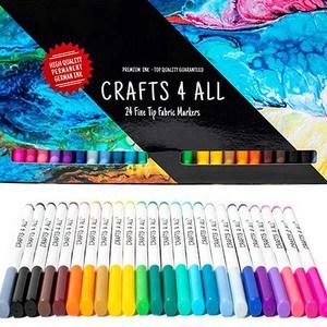 Crafts 4 Fine Tip Fabric Marker