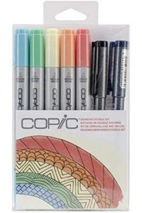 Doodle Copic Markers