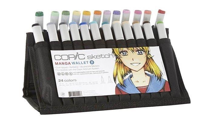 Wallet B Sketch Marker Set