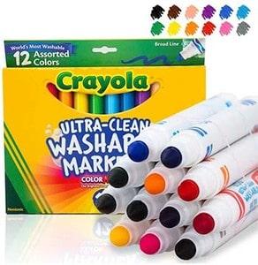 Crayola Markers (12-PCs)