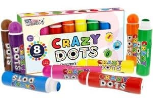 Crazy Dots Washable Markers