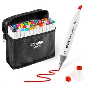 Ohuhu Fabric Marker Pack