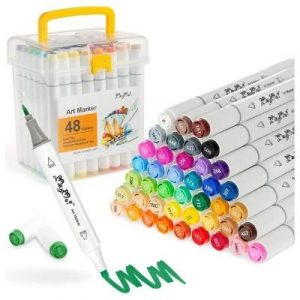 MayMoi Dual Tip Alcohol Markers Set