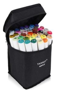 Tanmit Dual Tips Art Markers