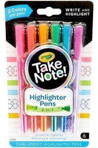 Crayola Dual Tip Highlighter Pens