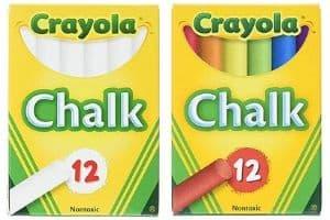 Crayola Non-Toxic White Chalk
