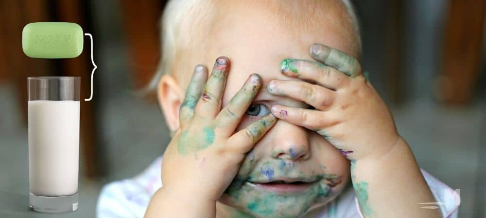 How to Get Crayola Markers Off Kids Skin