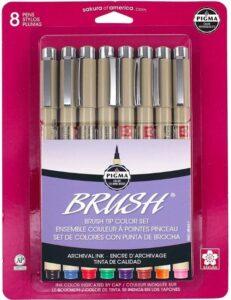 Sakura Pigma Assorted Brush Pen