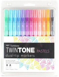 Tombow TwinTone Markers