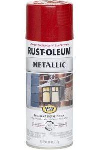 Rust-Oleum Red Metallic Spray