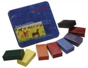 Stockmar Waterproof Beeswax Blocks Crayon