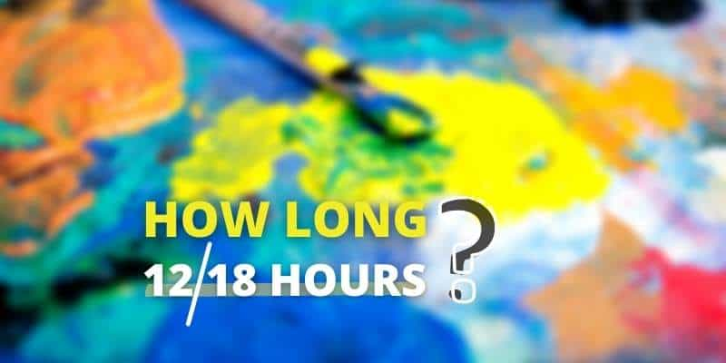 How Long Does It Take Oil Paint to Dry? Things You Must ...