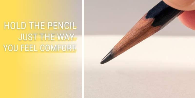 How to Hold the Pencil