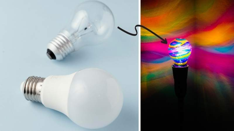 Is it Safe to Color a Light Bulb With a Marker