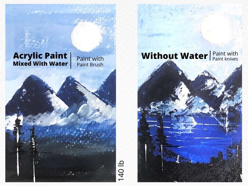 Can You Use Acrylic Paint on Watercolor Paper? Here's the Answer