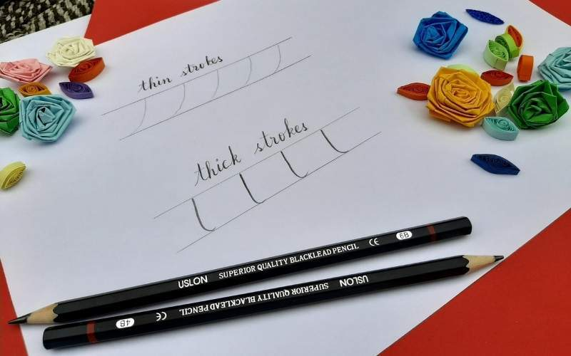 basic strokes for calligraphy