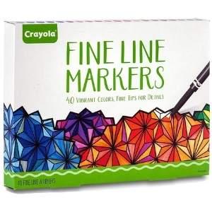 Crayola Fine Line Markers Set