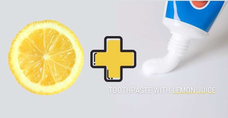 Toothpaste With Lemon Juice