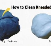 How to Clean Kneaded Eraser? Is it Possible!