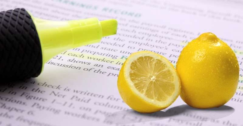 Remove Highlighter Marks from Paper