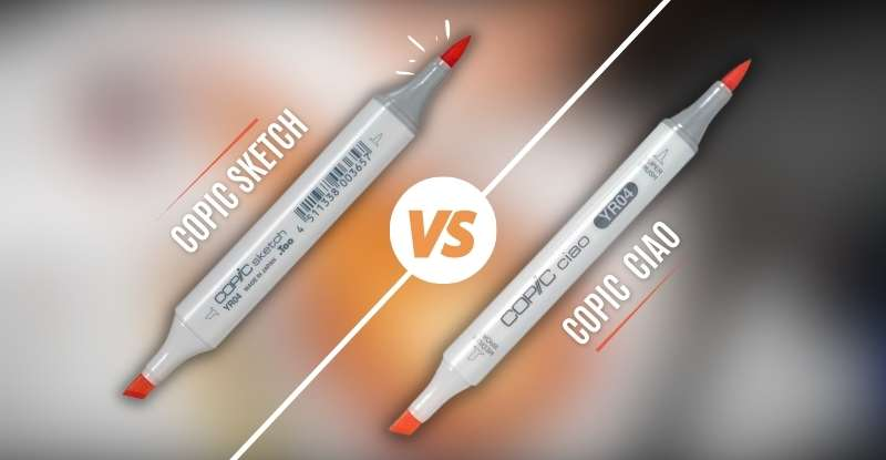 Copic Sketch vs Copic Ciao