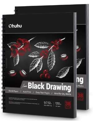 Ohuhu Black Sketch Pad