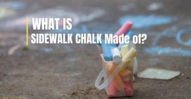What is Sidewalk Chalk