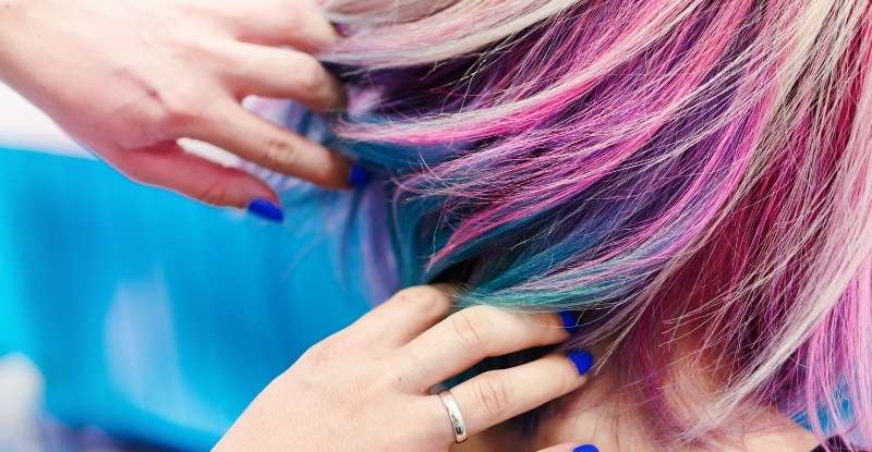 Remove Marker from Hair