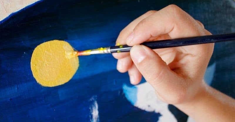 How to Make Oil Painting Look Glossy
